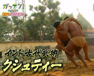 インド式古武術:クシュティー