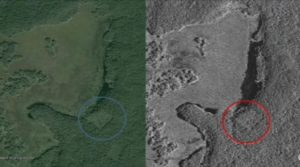 詳しく撮ってもらった衛星写真