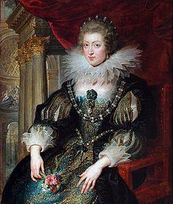 アンヌ王妃 1625年ルーベンス作