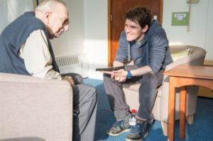 こちらは、盲目の退職・退役軍人のための活動。 典拠: blindveteransuk.org