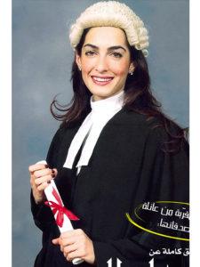 アマルさんの卒業式 典拠: people.com
