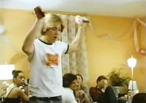『Team Mates』出演時。 ほとんど子どもに見えるジェームズ・スペイダー 典拠: zlFBoards