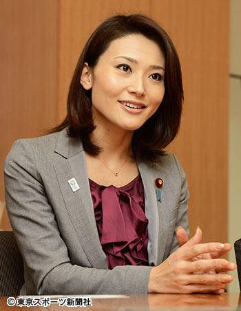 エラのせいか、とても気が強そうに見える金子議員 典拠:東京スポーツ