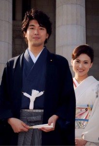 金子 恵美議員と結婚