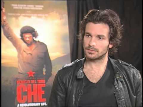 『チェ・ゲバラ』出演の際の、インタヴュー 典拠: Yahoo! Mexico