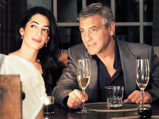ジョージと嫁のアマルさん