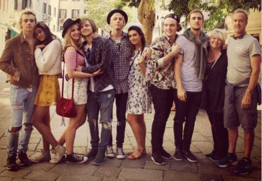 昨年、R5のメンバーとイタリアに旅行した時の写真。 典拠: instagram
