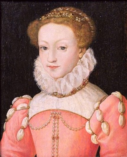 Mary Queen of Scots (1542-1587) 典拠: pinterest