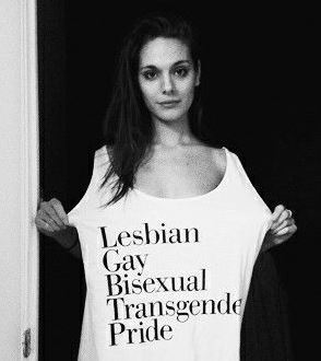 「LGBTプライド」って・・・ メッセージ性が強い 典拠: pinterest